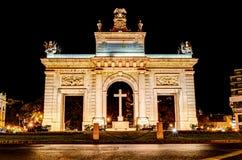 Porta de la Mar, Valencia Stock Image