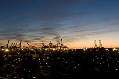 Porta de Long Beach Imagens de Stock Royalty Free