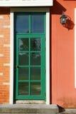 Porta de madeira Fotografia de Stock Royalty Free