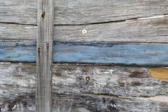 Porta de madeira Imagem de Stock