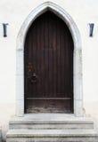 Porta de madeira antiga Imagens de Stock Royalty Free