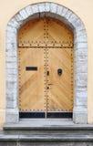 Porta de madeira antiga Foto de Stock Royalty Free