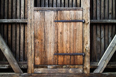 Porta de madeira antiga Imagem de Stock Royalty Free