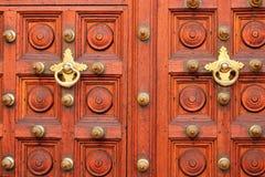 Porta de madeira antiga Fotografia de Stock