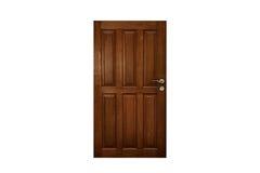 Porta de madeira clássica Fotos de Stock