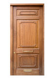 Porta de madeira da entrada Foto de Stock Royalty Free