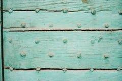 Porta de madeira dura Fotografia de Stock Royalty Free
