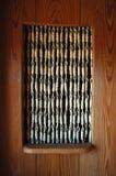 Porta de madeira interior (1/3) fotografia de stock royalty free