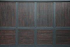Porta de madeira luxuosa Imagem de Stock Royalty Free