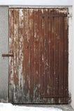 Porta de madeira pequena 001 Imagens de Stock Royalty Free