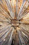 Porta de madeira velha Imagem de Stock Royalty Free