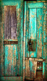 Porta de madeira velha. Imagem de Stock Royalty Free