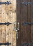 Porta de madeira velha Imagens de Stock Royalty Free