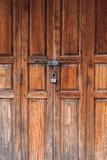 Porta de madeira velha Imagem de Stock