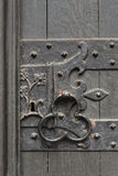 Porta de madeira velha Imagens de Stock