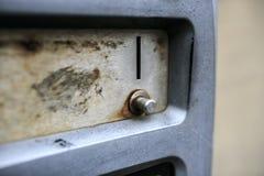 Porta de madeira velha em Inglaterra imagem de stock royalty free