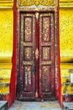 Porta de madeira velha Fotos de Stock Royalty Free