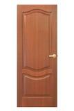 Porta de madeira vermelha imagens de stock royalty free