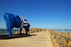 Porta de mar em Venspils Foto de Stock Royalty Free