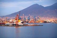 Porta de Nápoles Imagem de Stock Royalty Free