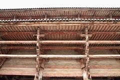 Porta de Nandaimon do ji de Todai em Nara fotos de stock