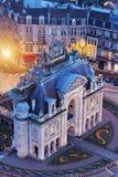 Porta de Paris i Lille Royaltyfri Foto