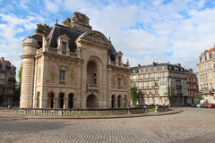 Porta de Paris - Lille - França (2) Foto de Stock Royalty Free