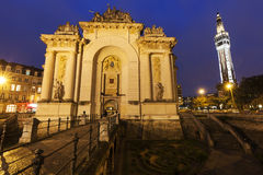 Porta de Paris in Lille Stock Photo