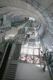 Porta de partida do aeroporto de Banguecoque Fotografia de Stock Royalty Free