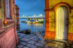 Porta de pesca Foto de Stock