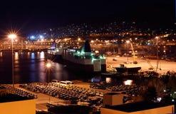 A porta de Piraeus foto de stock