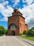 Porta de Pyatnitsky ou torre de Spassky Imagem de Stock Royalty Free
