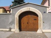 Porta de rua Imagens de Stock