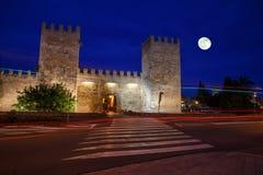 Porta de Sant Sebastia Royalty Free Stock Image
