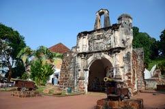 Porta de Santiago Royalty Free Stock Image