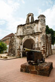 Porta de Santiago in Malacca, Malaysia Royalty Free Stock Image