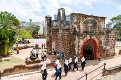 Porta de Santiago in Malacca, Malaysia Royalty Free Stock Photos