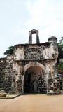 Porta de Santiago in Malacca, Malaysia royalty free stock photo
