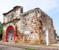 Porta de Santiago in Malacca Stock Photography
