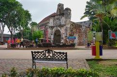 Porta de Santiago in Malacca Royalty Free Stock Photo