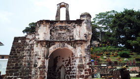 Porta De Santiago in Malakka, Malaysia stockfoto