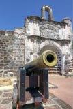 Porta de Santiago, un Famosa, Malaca Foto de archivo