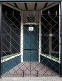 Porta de segurança para a loja Fotografia de Stock