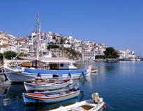 Porta de Skopelos imagem de stock