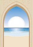 Porta de Sun Fotos de Stock Royalty Free