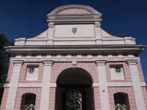 Porta de Tallinn (Pärnu, Estônia) Imagem de Stock