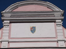 Porta de Tallinn (Pärnu, Estônia) Fotos de Stock Royalty Free