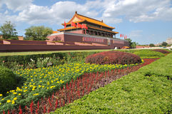 Porta de Tian-An-Men, Beijing Imagens de Stock Royalty Free