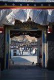 Porta de tibet Fotografia de Stock Royalty Free