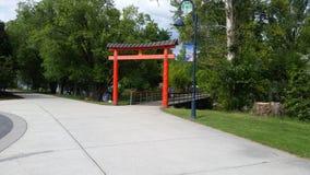 Porta de Torii foto de stock